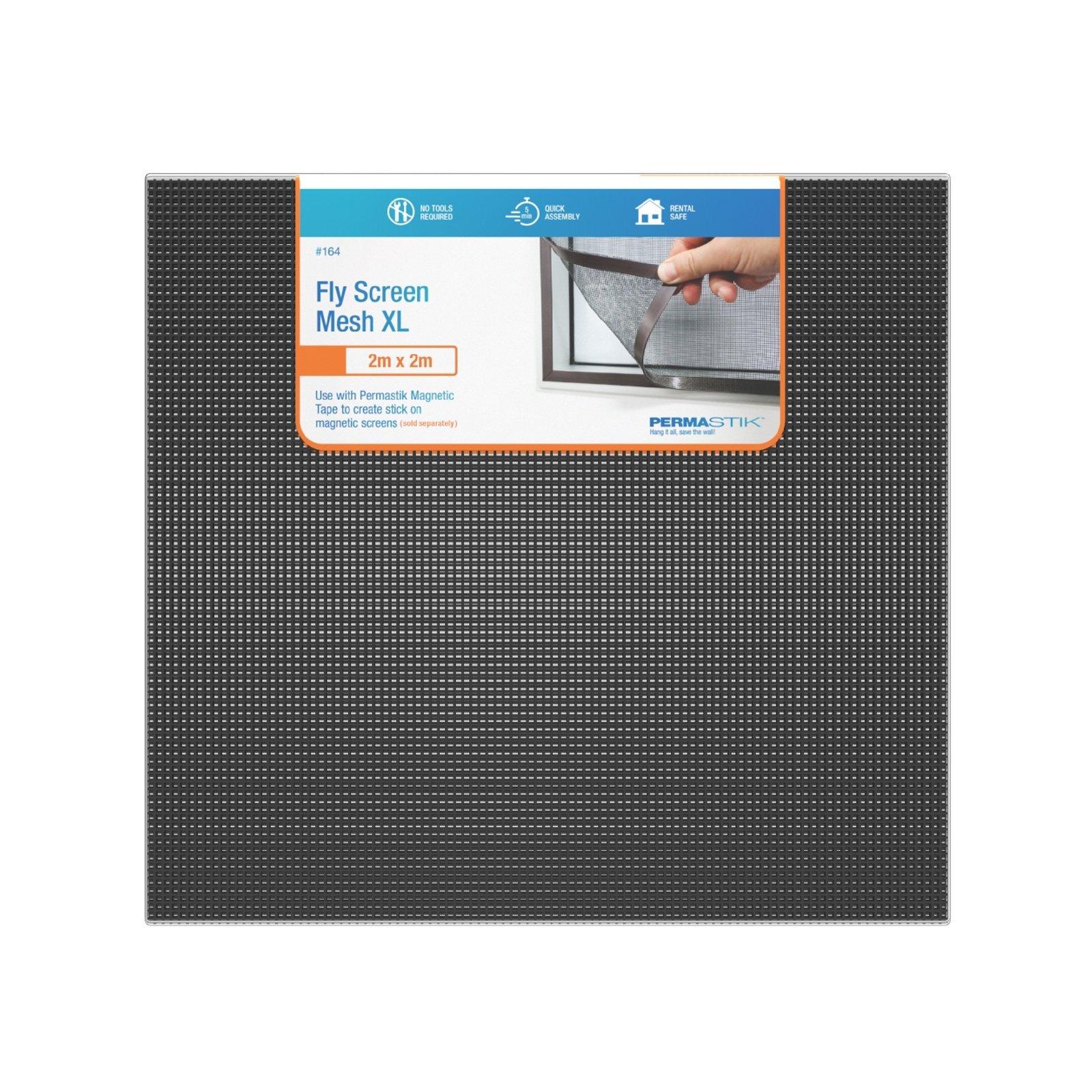 Permastik 2m x 2m XL Fibreglass Mesh Insect Screen