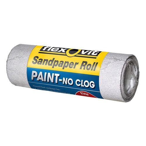 Flexovit 100mm x 1m 240 Grit Painted Surface Sandpaper Roll