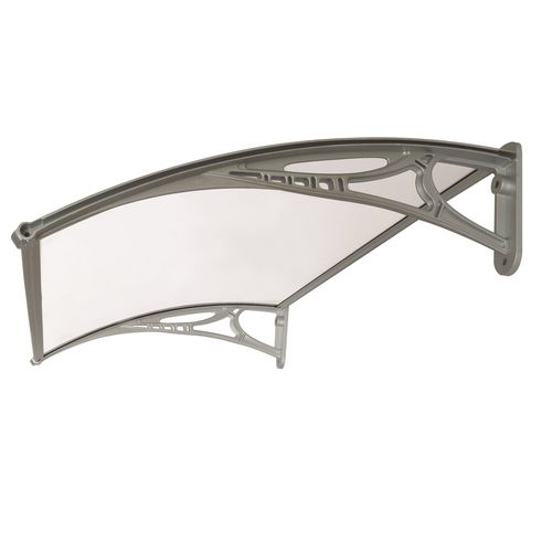 Altamonte 1000 x 700mm Clear Corsica Canopy With Plastic Bracket