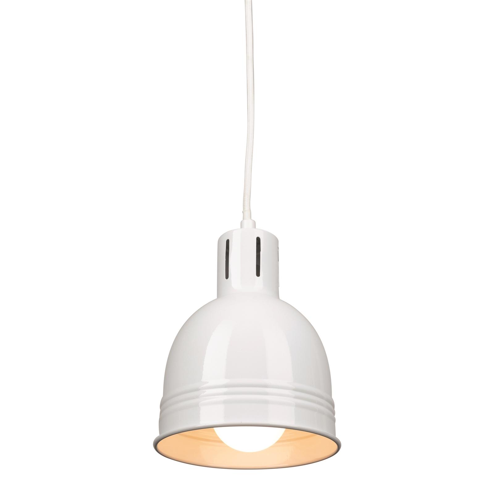Brilliant Gloss White Milly DIY Suspension Light