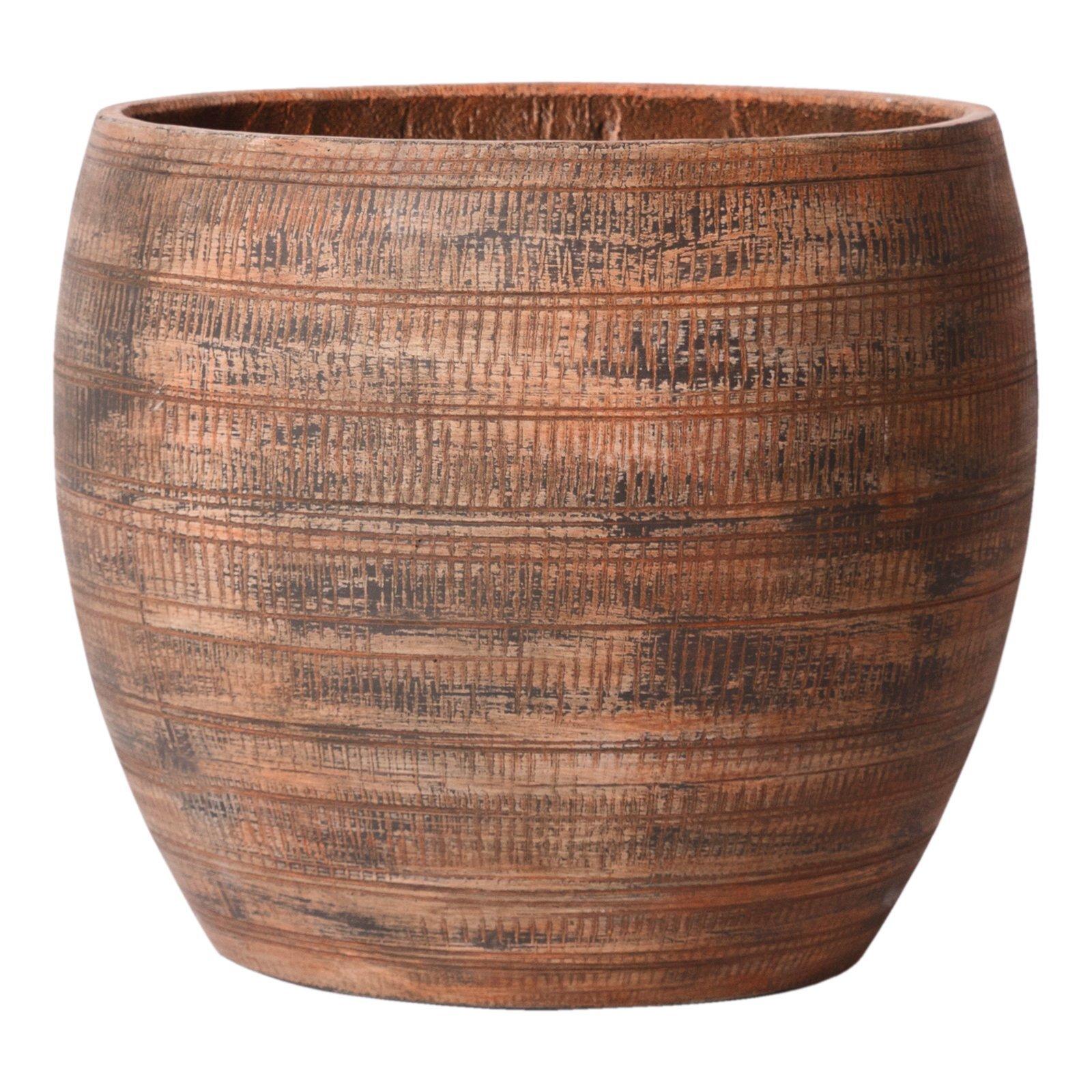 Tuscan Path 46cm Rust Extra Large Jasper Pot