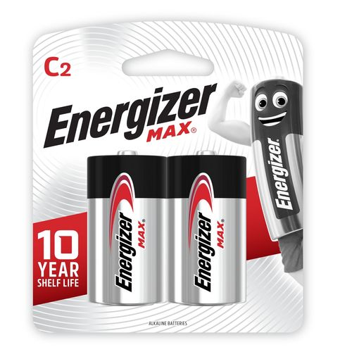 Energizer Max C Battery - 2 Pack