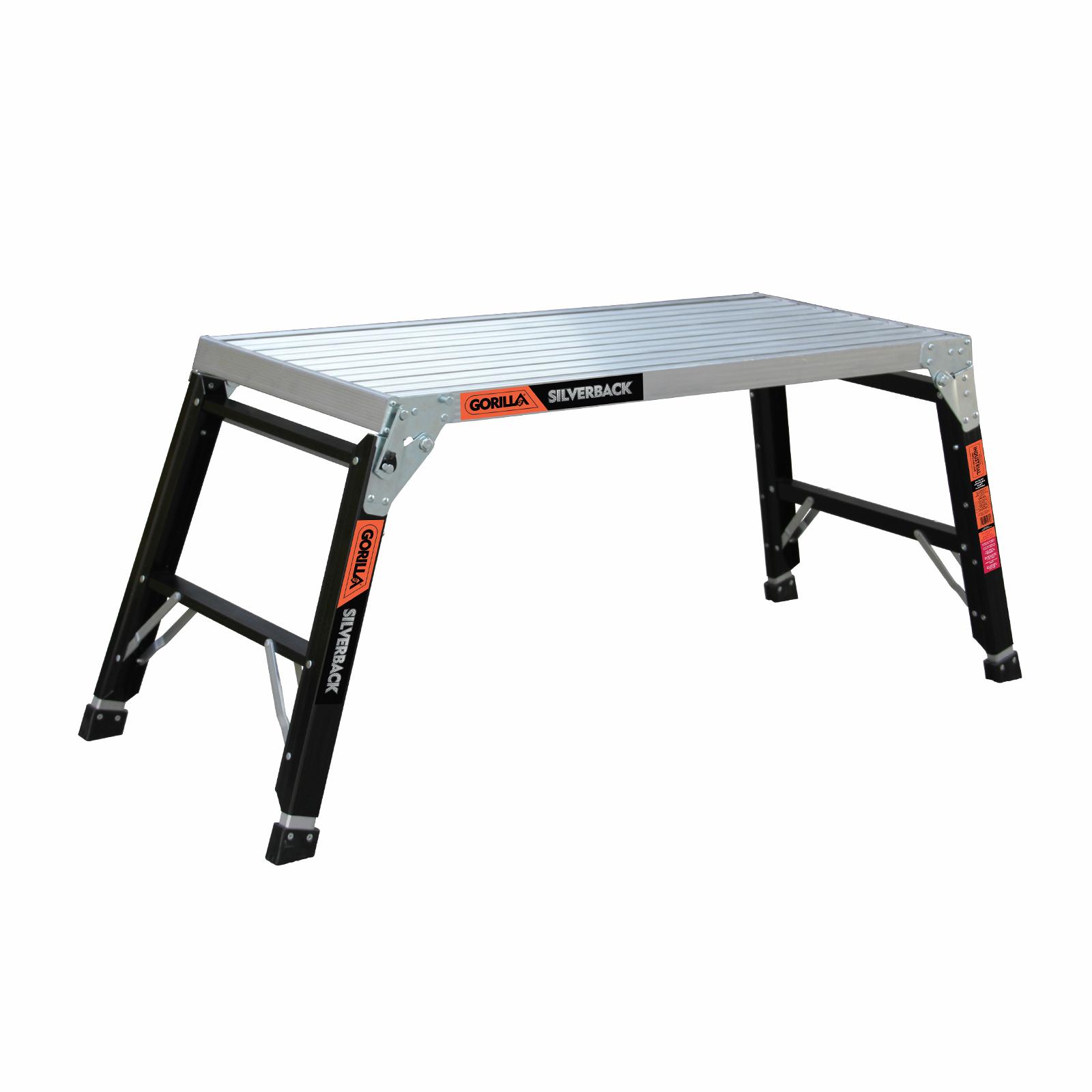 Gorilla 483mm Wide Silverback FATBOY Adjustable Paint Platform