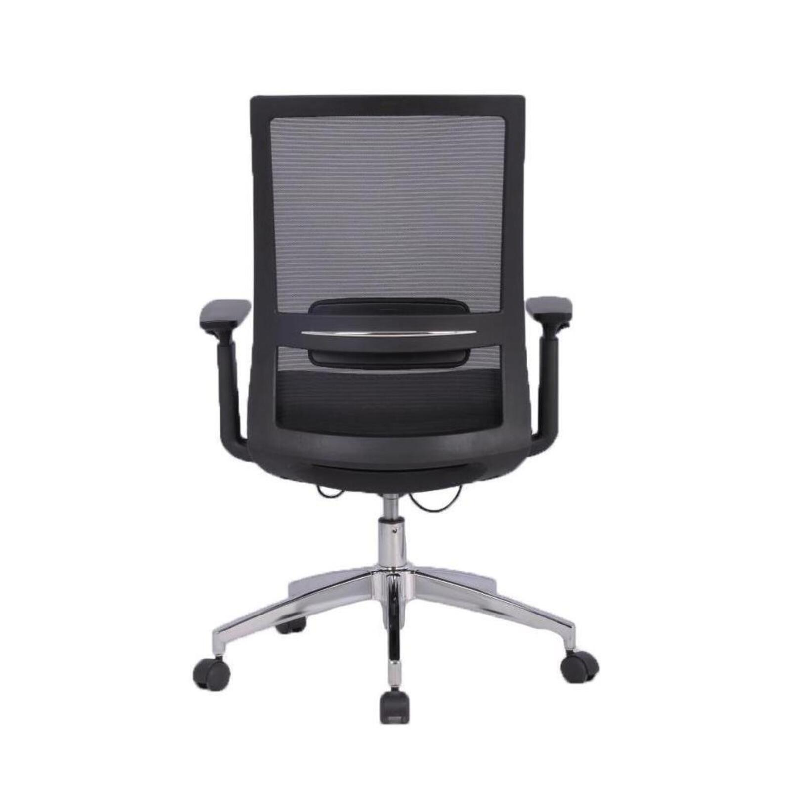 Staples marrett black mesh chair