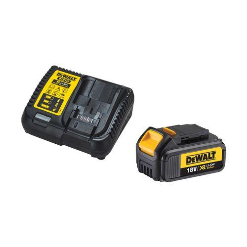 DeWALT 18V XR 3.0Ah Li-Ion Battery And Charger Starter Kit