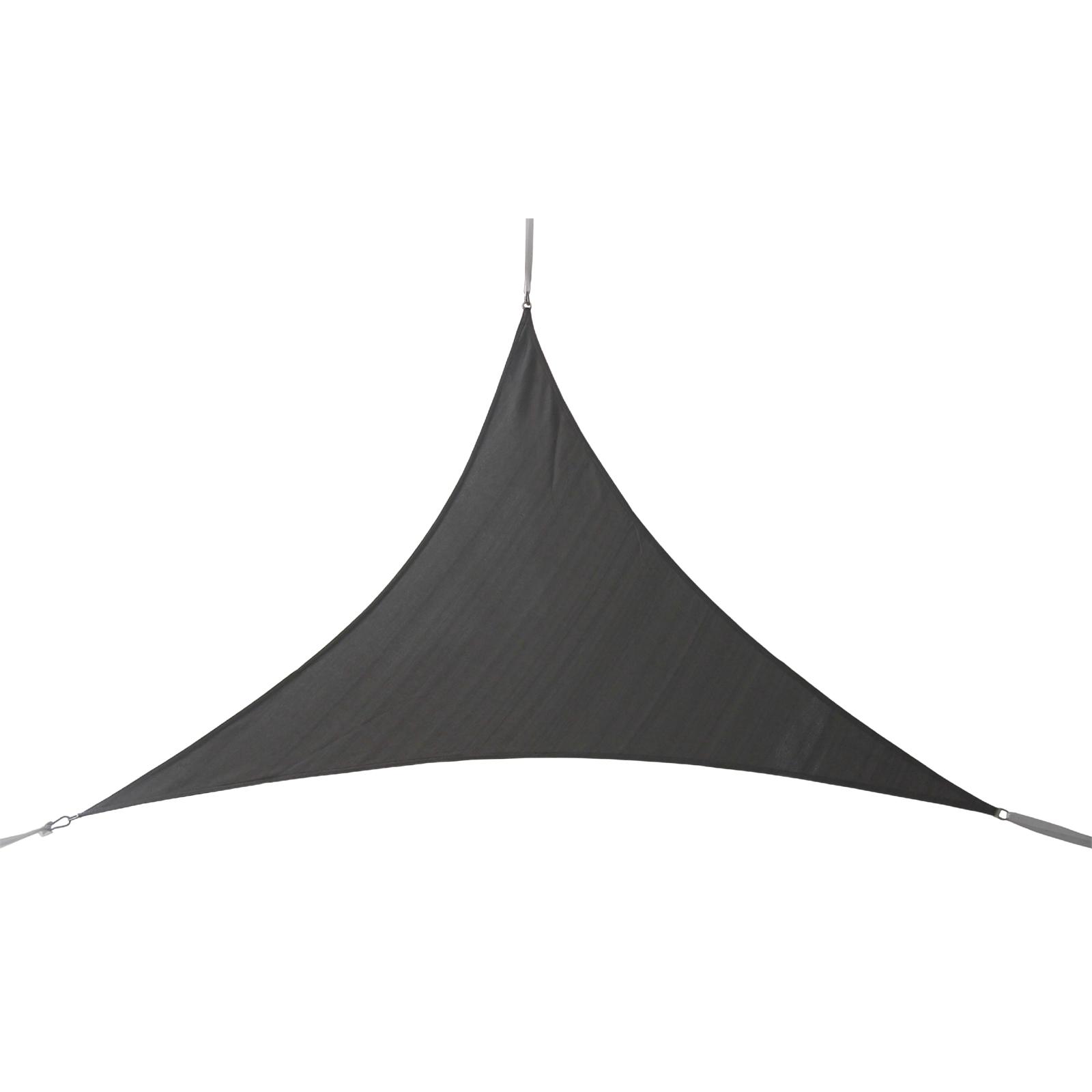 Marquee 3 x 3m Charcoal Triangle Shade Sail