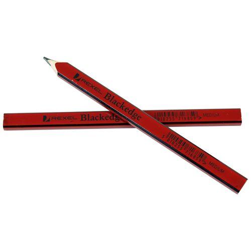 Blackedge Builders Pencil Medium Red