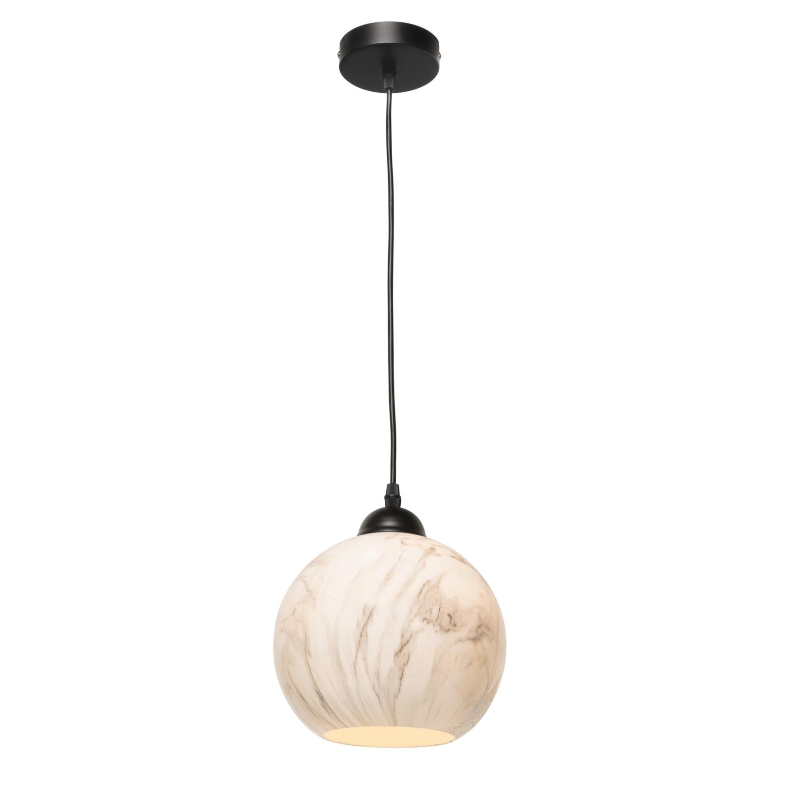 Brilliant 240V White Attis Ball Pendant Light