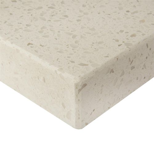 Essential Stone 40mm Square Savvy Stone Benchtop - Whipped Cream