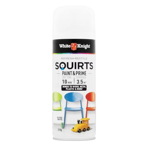 White Knight Squirts 310g Spray Paint