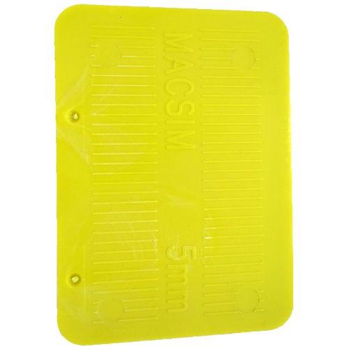 Macsim Fasteners 72 x 100 x 5mm Yellow Half Shim - 4 Pack