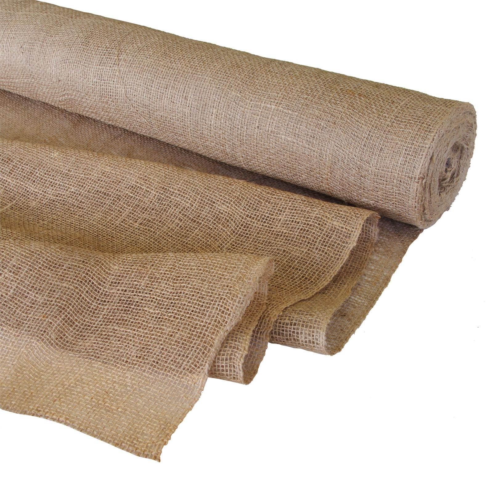 Pillar Products 1.8 x 50m Prepacked Natural Hessian