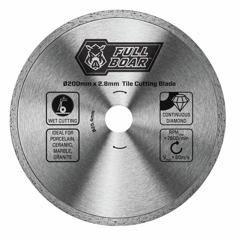 200mm Continuous Rim Tile Cutting Blade
