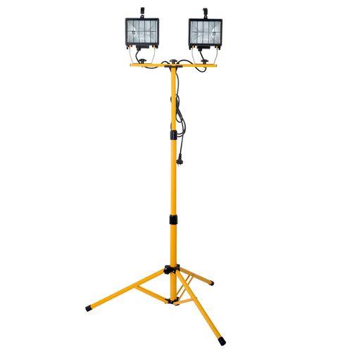 Arlec 1000W Halogen Worklight With Tripod