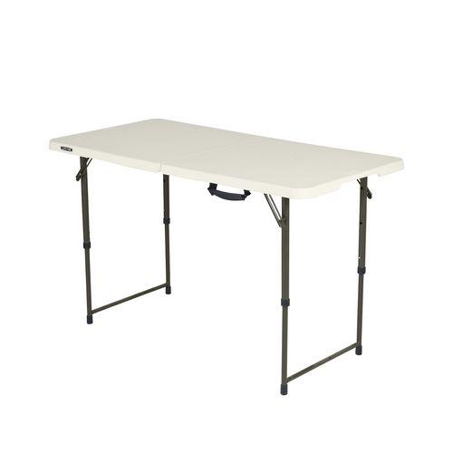 Lifetime 4ft Bi-Fold Blow Mould Trestle Table