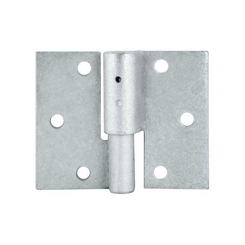 Pinnacle 16mm Galvanised LH Double Butt Security Gate Hinge