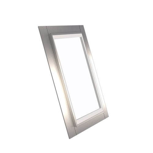 EzyLite 1400 x 550mm Fixed Roof Window For Corrugated Roof - Smart Glass