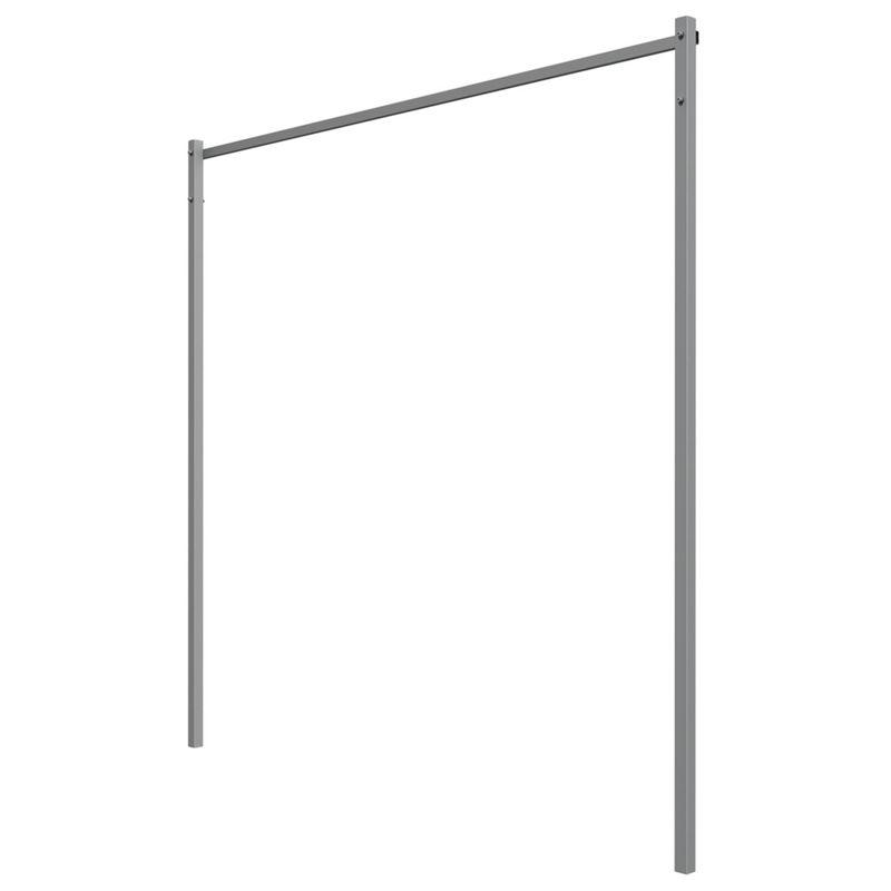 Slate Folding Clothesline Post Kit