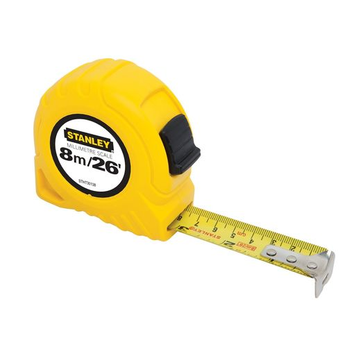 Stanley 8m / 26ft Imperial Tape Measure