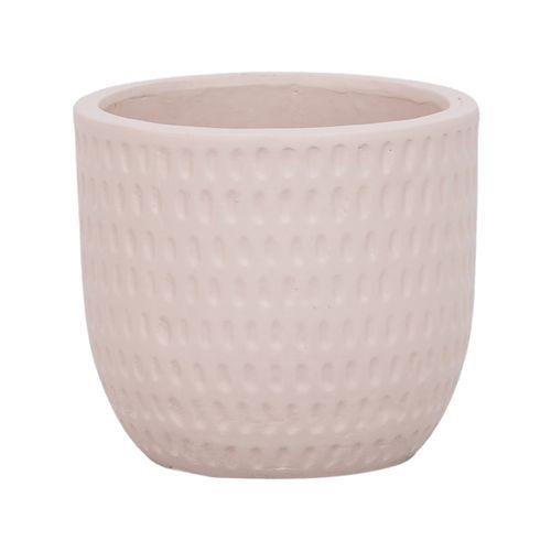 Lotus 18 x 16cm Cream Medium Dotty Ceramic Egg Pot