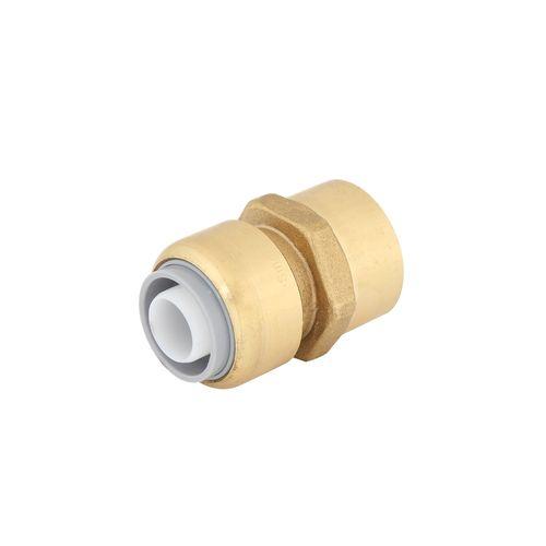 "SmarteX P 20mm x 3 / 4"" Push Fit Brass Pex Female Connector"