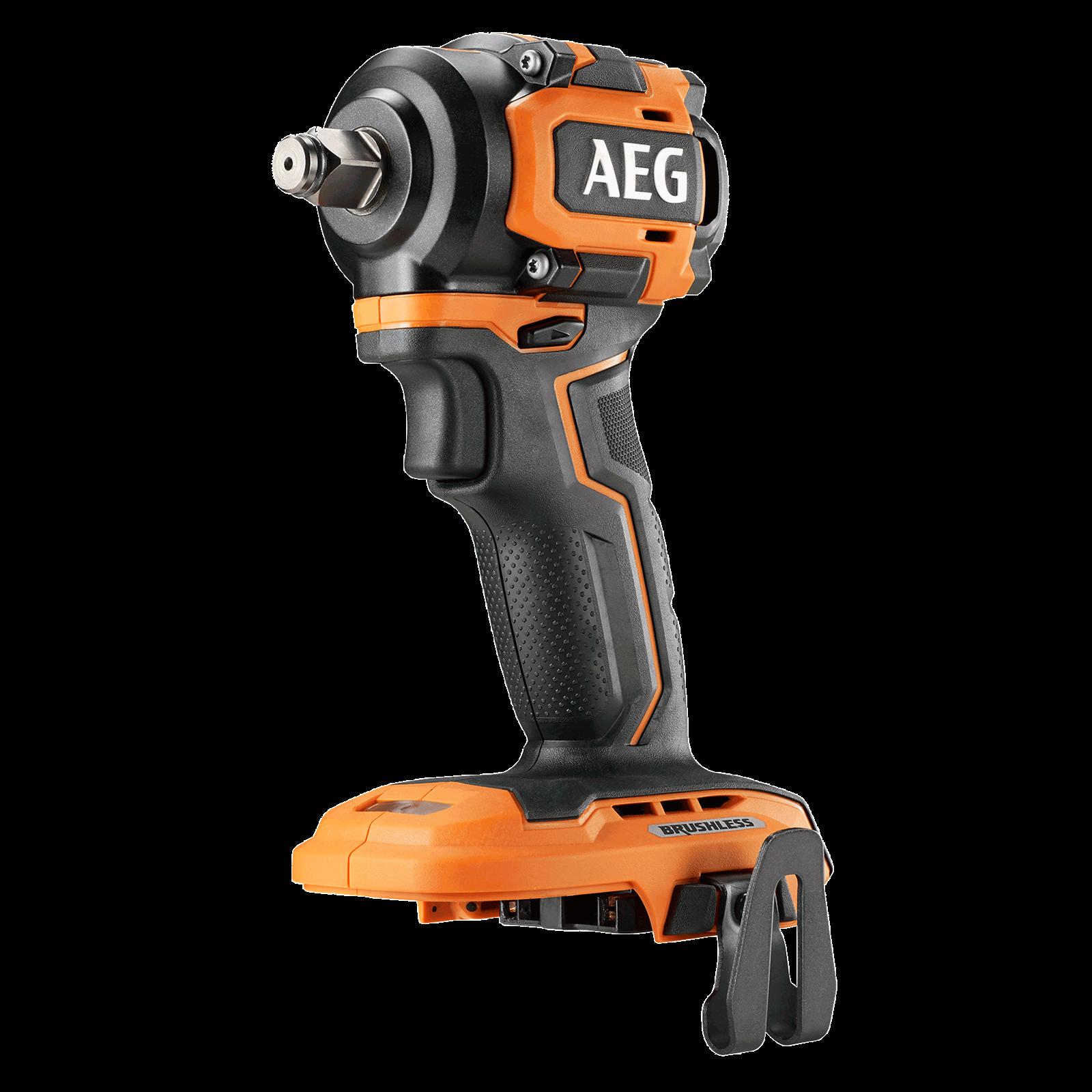 "AEG 18V 1/2"" Brushless Sub Compact 4-Mode Impact Wrench - Skin Only"