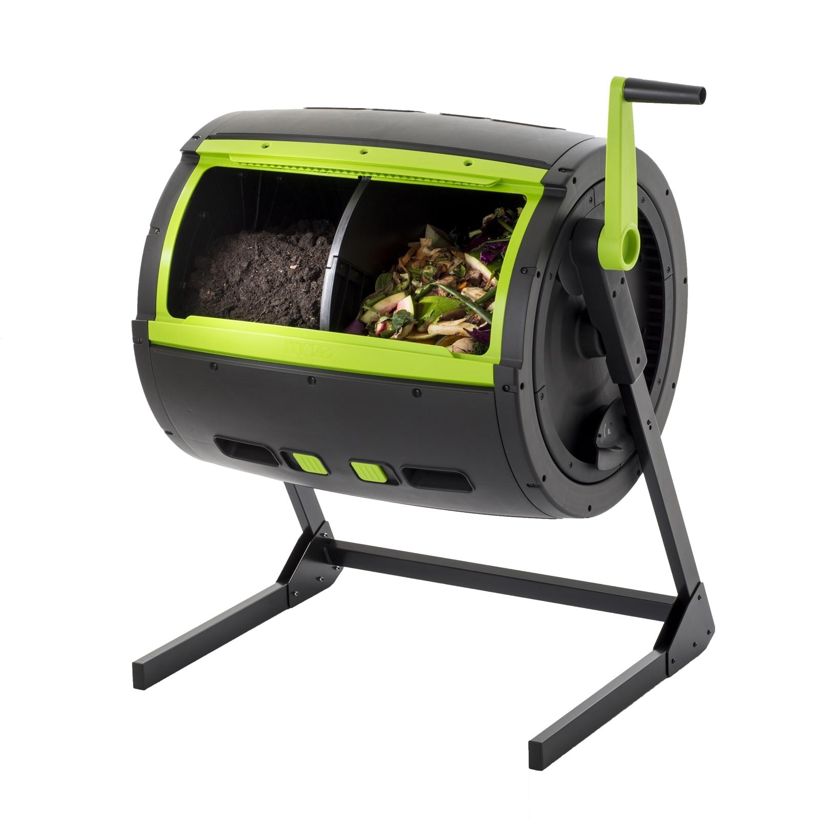 Maze 245L 2 Compartment Compost Tumbler
