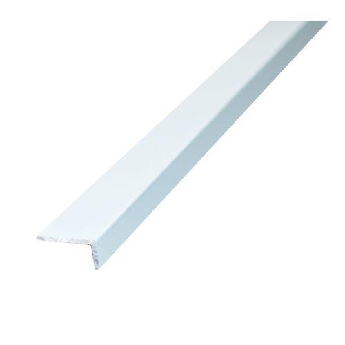 Metal Mate 20 x 12mm x 3m 1.4mm White Powder Coated Aluminium Angle