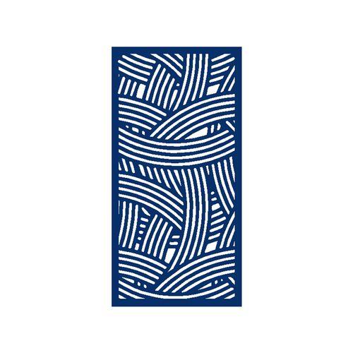 600 x 900mm ACP Profile 11 Decorative Panel Unframed - Dark Blue