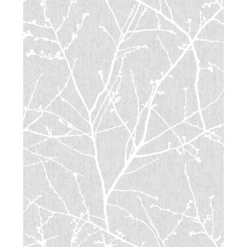 Superfresco Easy 1/2m Grey Innocence Wallpaper Sample