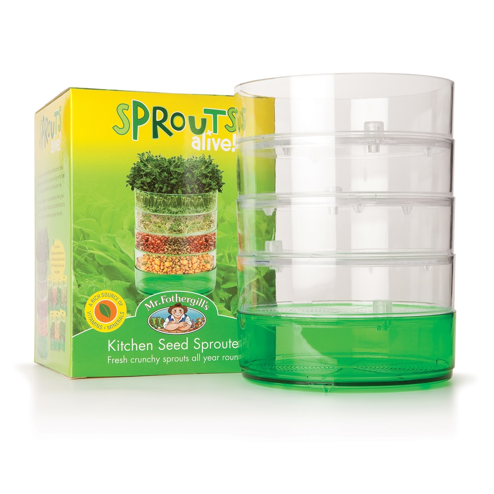 Mr Fothergill's Kitchen Seed Sprouter