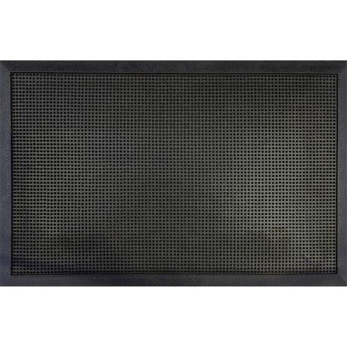 Bayliss 60 x 100cm Black Stipple Plain Mat