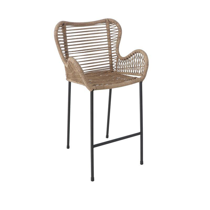 Butterfly Wicker Bar Chair