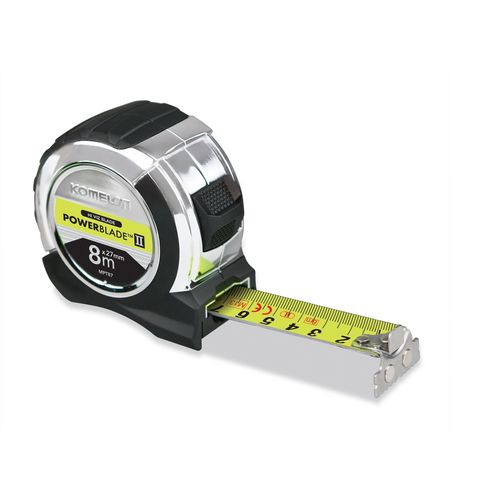 Komelon 27mm x 8m Hi-Vis Tape Measure
