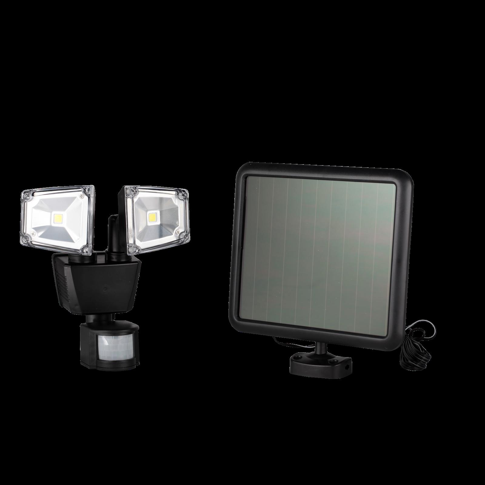 Click Solar LED Dual Security Light