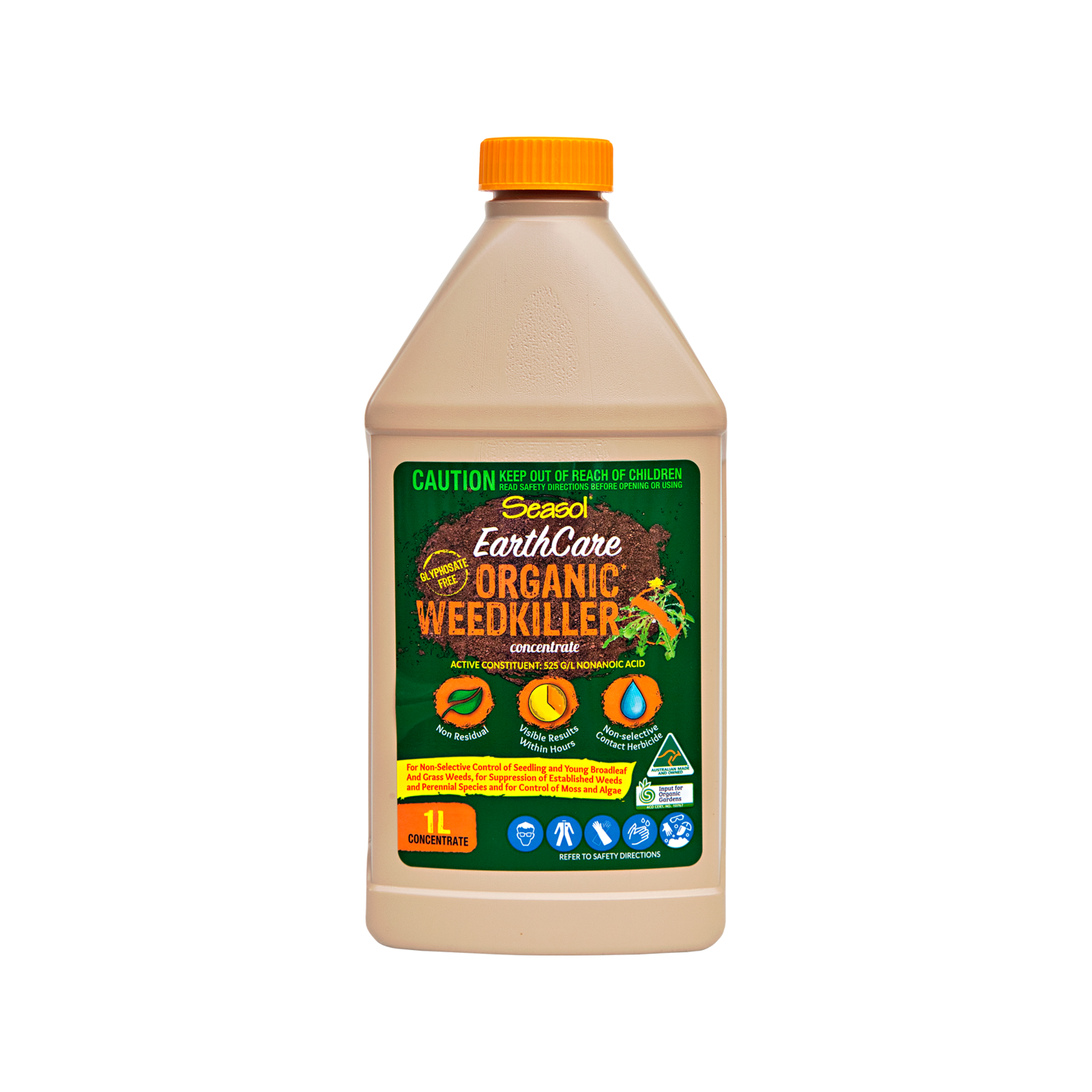Seasol EarthCare 1L Organic Weedkiller Concentrate