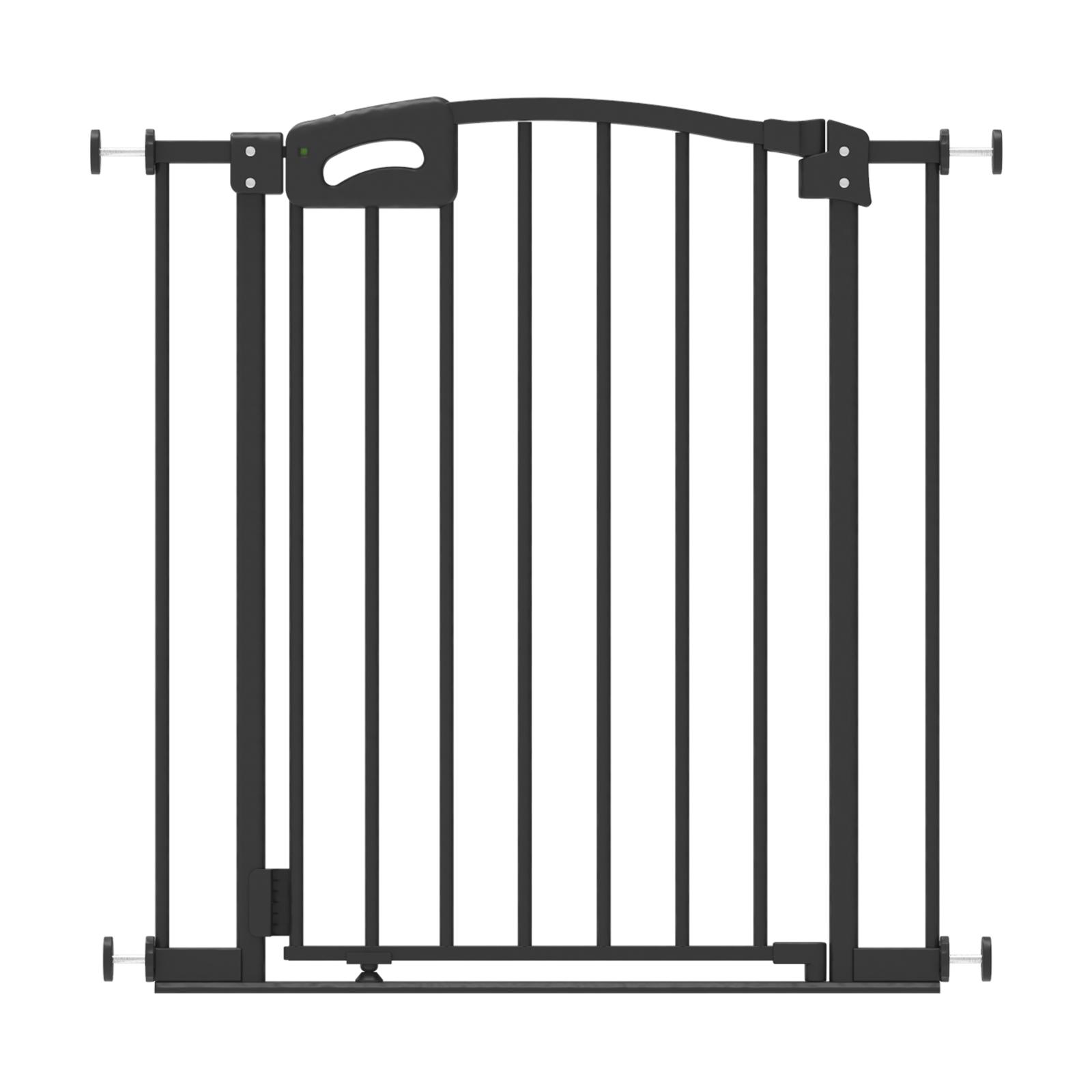Perma Child Safety Warm Black Ultimate Safety Gate