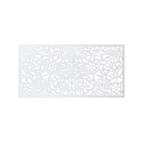 Matrix 1140 x 570mm Off White Baroque Wall Art