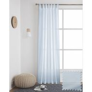 Windoware 1200 x 2230mm Organza Sheer Claire Curtain - Sheer Claire Twilight Blue
