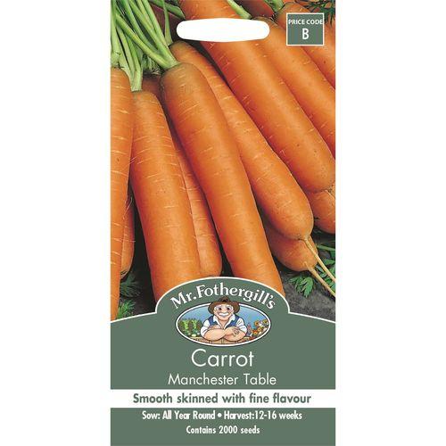 Mr Fothergill's Carrot Manchester Table Vegetable Seeds