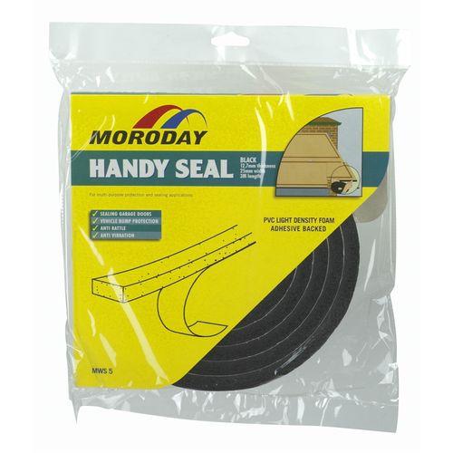 Moroday 12.7 x 25mm x 3m Garage Weatherseal