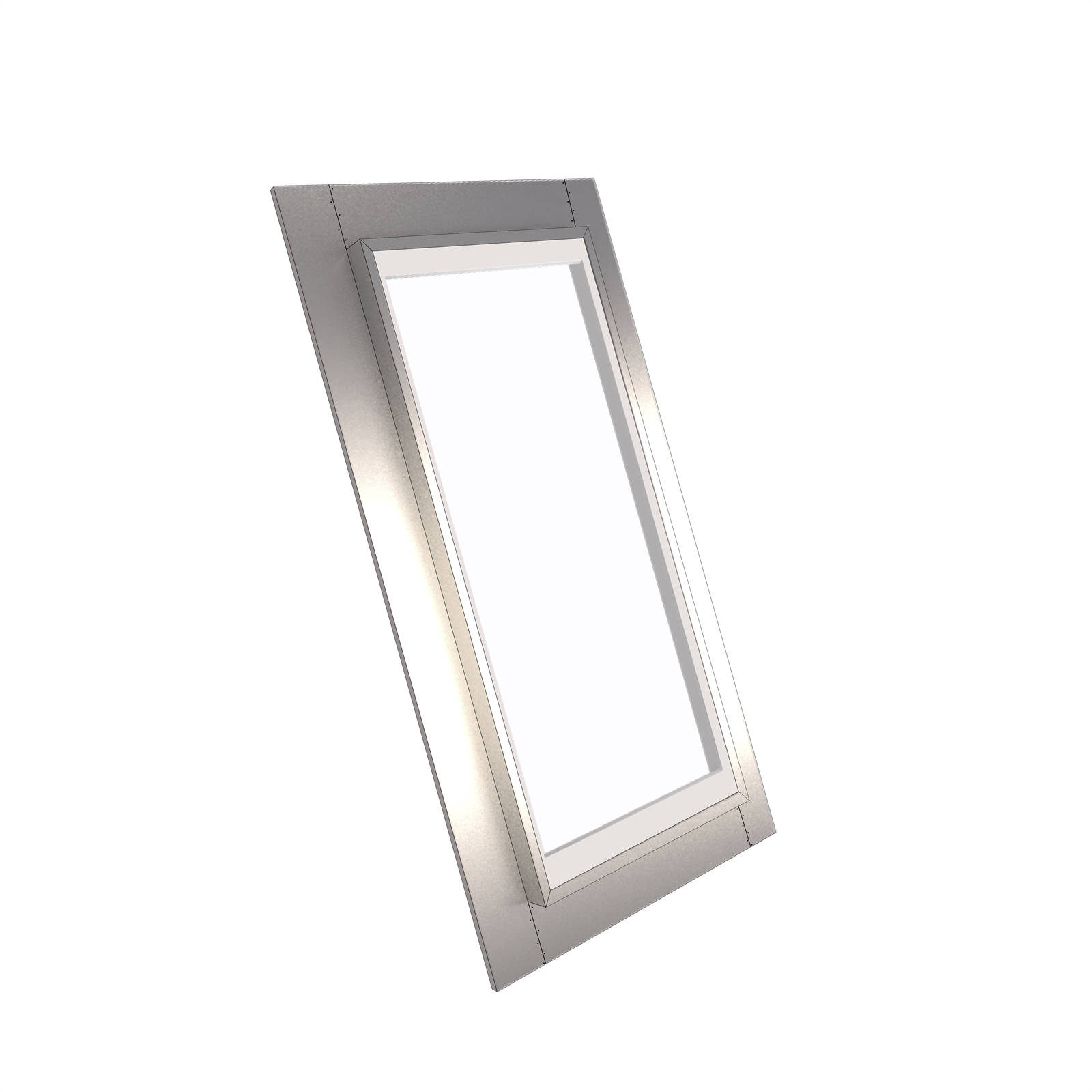 EzyLite 800 x 550mm Fixed Roof Window For Corrugated Roof - Smart Glass