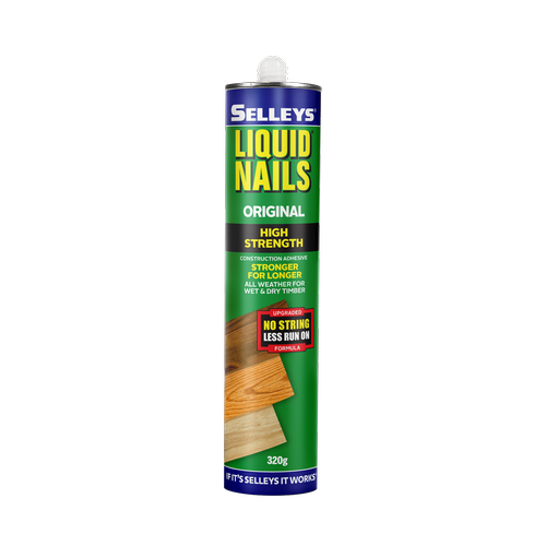 Selleys 320g Liquid Nails Original Construction Adhesive