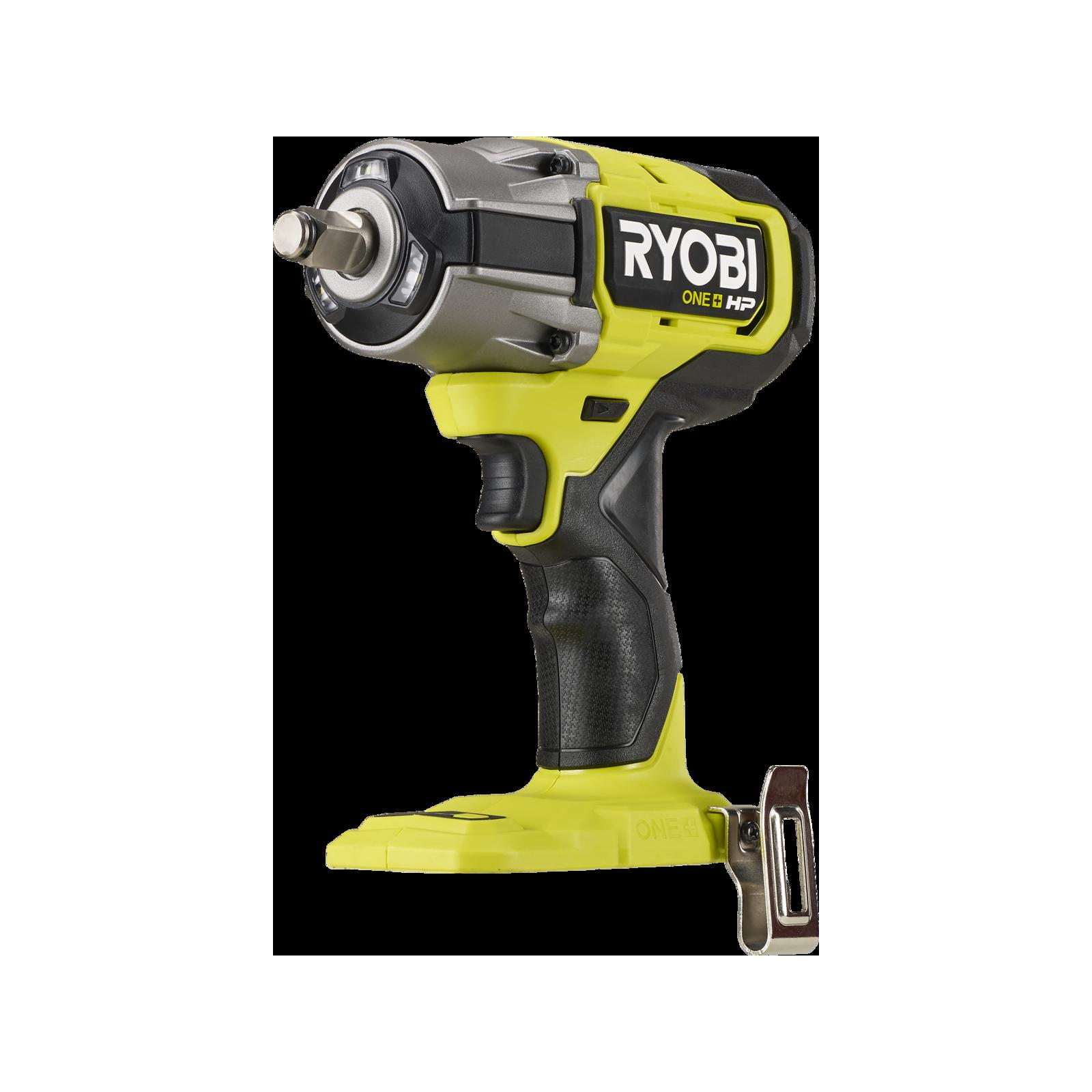 "Ryobi 18V ONE+ HP™ Brushless ½"" Mid Torque Impact Wrench - Skin Only"