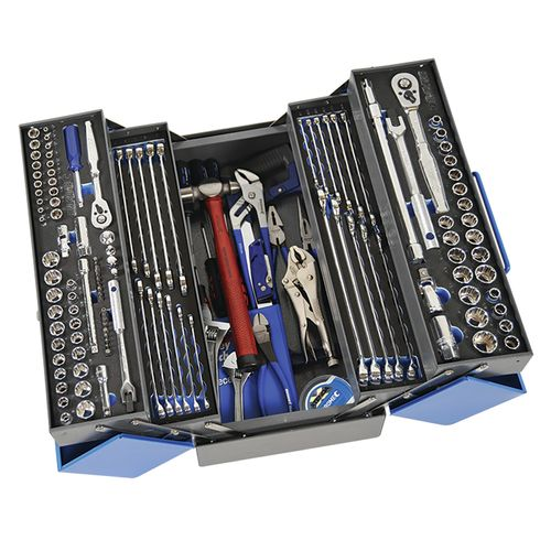 """Kincrome 164 Piece 1/4, 3/8 And 1/2"""" Drive Cantilever Tool Kit"""