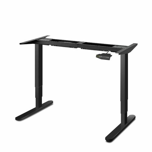 Artiss Standing Desk Sit Stand Table Riser Height Adjustable Motorised Electric Office Computer Laptop Black