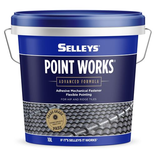 Selleys 10L Generation ll Point Works - Walnut
