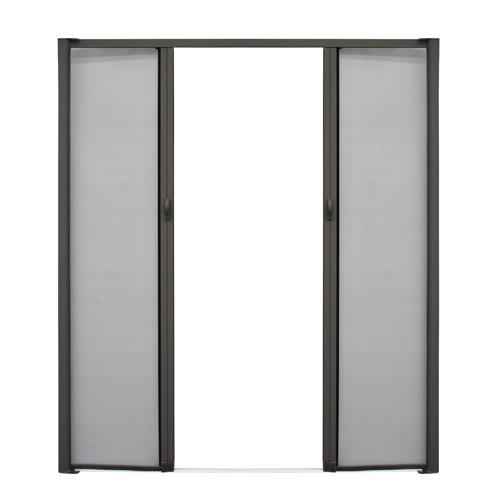 Pillar Products 210 x 204cm Charcoal Kakadu Retractable Flyscreen Door
