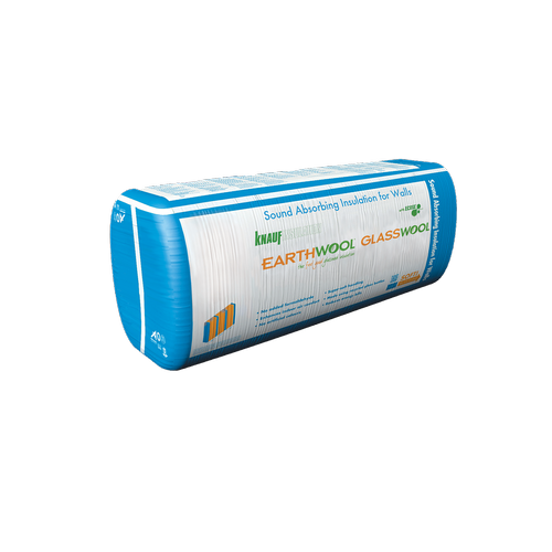 Earthwool glasswool R2.6 90mm x 580mm x 1160mm 9.42m² Acoustic Wall Insulation Batt - Pack Of 14