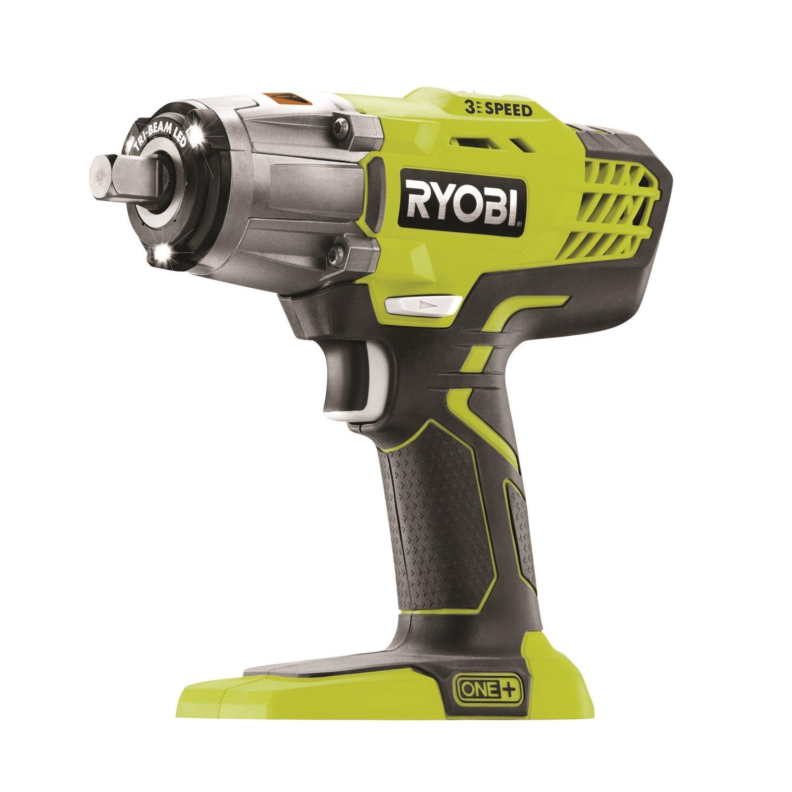 Ryobi One+ 18V 3-Speed Impact Wrench - Skin Only